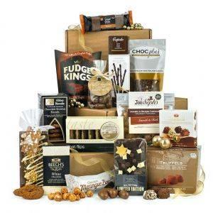 Chocolate Tiffin Tower Hamper