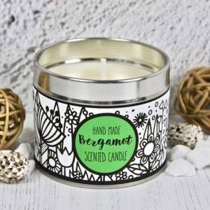 Handmade Bergamot Scented Candle