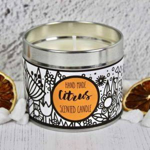 Handmade Citrus Scented Candle