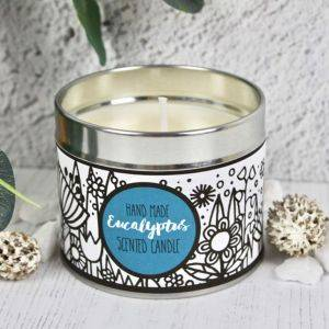 Handmade Eucalyptus Scented Candle