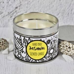 Handmade Jasmin Scented Candle