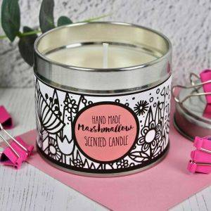 Handmade Marshmallow Scented Candle