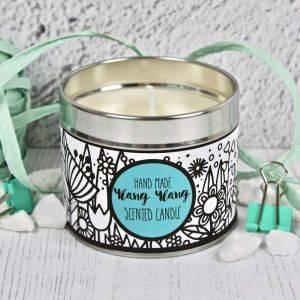 Handmade Ylang Ylang Scented Candle