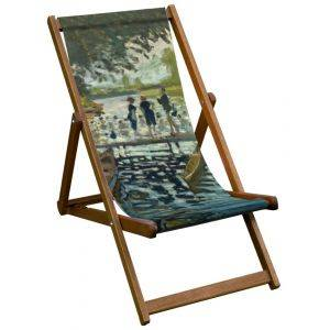 Bathers National Gallery Deck Chair