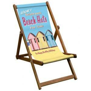 Beach Huts Deck Chair