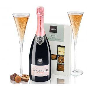 Bollinger Rosé Champagne Patisserie Chocolates