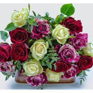 Cartmel Rose Bouquet