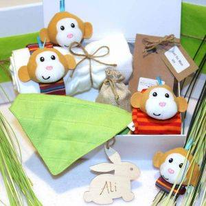 Cheeky Monkey Newborn Baby Gift Box