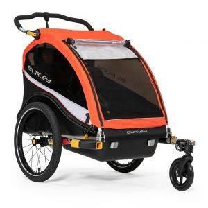 Burley Bike Trailer Cub X Atomic Red
