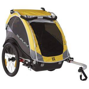 Burley Bike Trailer Cub Yellow