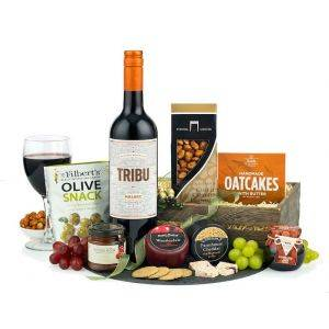 Wine & Cheese Crate Hamper