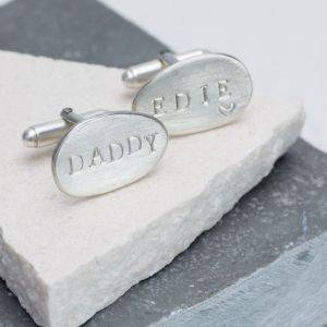 Family Name Cufflinks