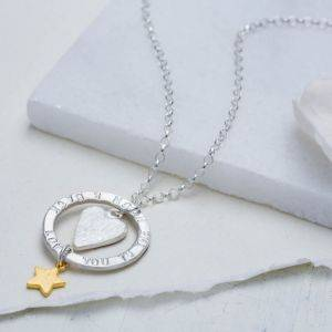 Love You Halo Necklace