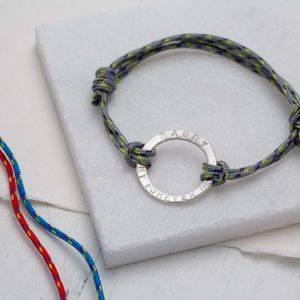 Mens Halo Rope Bracelet