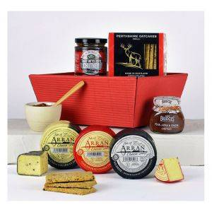 Cheese and Chutney Gift Tray Hamper