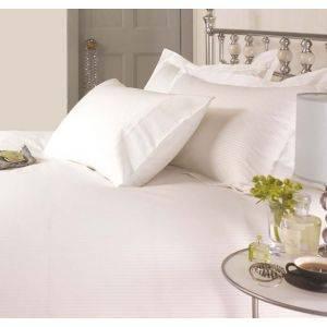 White Stripe Bedding Set