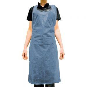 Disposable Apron 20 Micron Blue - Roll of 200