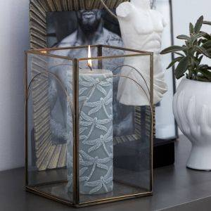 Handmade Glass Auria Lantern