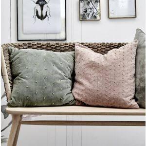 Green Bay Velvet Scatter Cushion