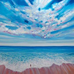 Ocean Calling Wall Painting