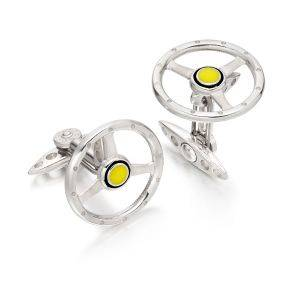 Volante Cufflinks White