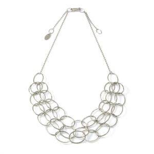 3 Line Cascade Necklace