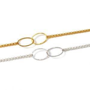 Cascade Chain Bracelet