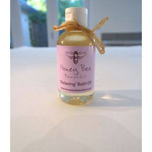 Relaxing Bath Oil Rose Geranium And Lavender