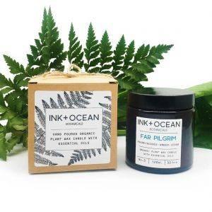 Far Pilgrim Aromatherapy Organic Plant Wax Candle