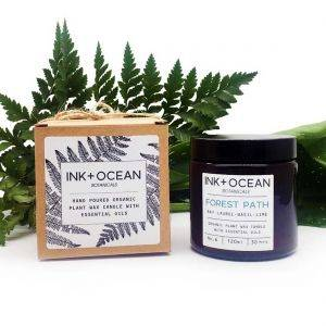 Forest Path Aromatherapy Organic Plant Wax Candle