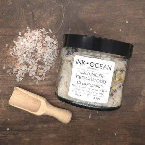 Lavender Cedarwood and Chamomile Aromatherapy Bath Salts