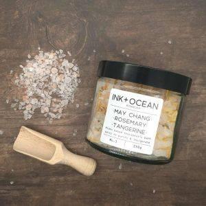 May Chang Rosemary and Tangerine Aromatherapy Bath Salts