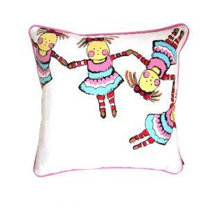 Linked Pretty Doll Cushion