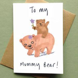 Mummy Bear Mothers Day Card