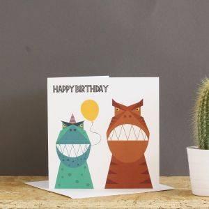 Little Dino Birthday Card