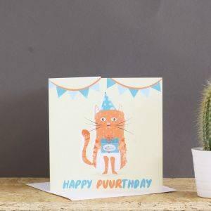 Happy Puurthday Card