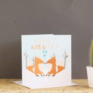 Merry Kissmas Mistletoe Card