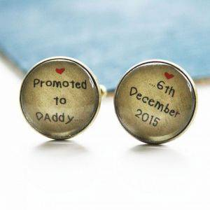 Antique Style Personalised Cufflinks