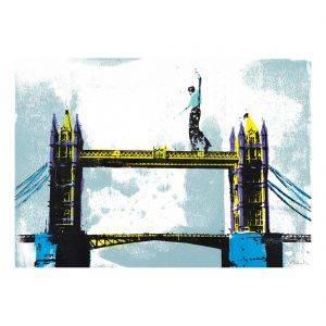 Tower Bridge Original Silkscreen Print