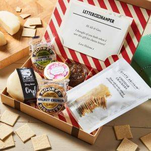 Cheese & Biscuits Post Letterbox Hamper