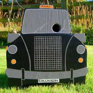 Personalised Taxi Bird Box