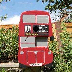 Personalised Bus Bird Box