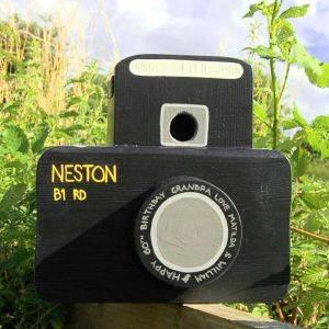 Personalised Camera Bird Box