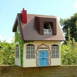 Personalised Cottage Bird Box
