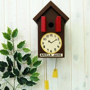 Personalised Cuckoo Clock Bird Box