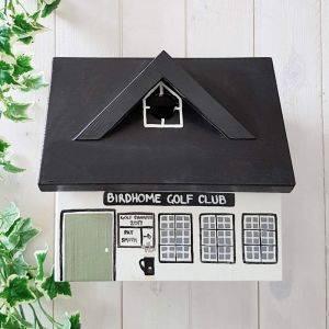 Personalised Golf Club Bird Box