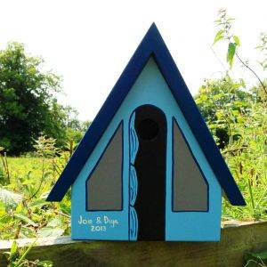 Personalised Camping Tent Bird Box