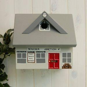 Personalised Train Station Bird Box