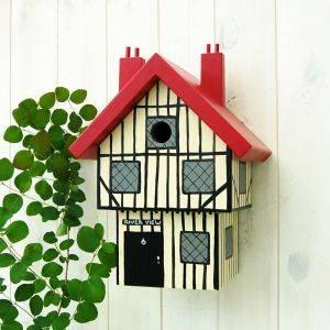 Personalised Tudor House Bird Box