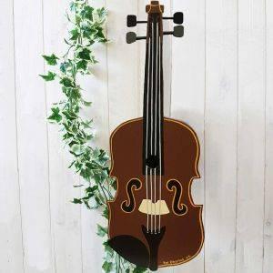 Personalised Fiddle Violin Bird Box